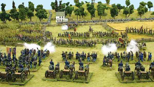 Regimental Fire and Fury Battle Picture