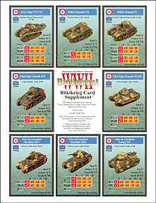 BFWWII Blitzkrieg Card Supplement