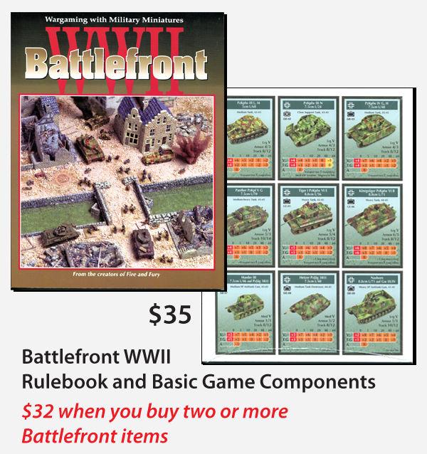 Product Description Battlefront WWII Rules